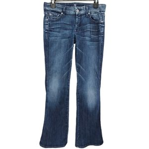 """7 For All Mankind Lexie """"A"""" Pocket Bootcut Jeans"""